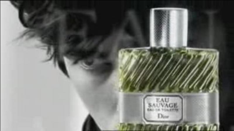 """Sur cette photo qui était l'égérie de Dior pour l'eau de toilette """"Eau sauvage"""" ?"""