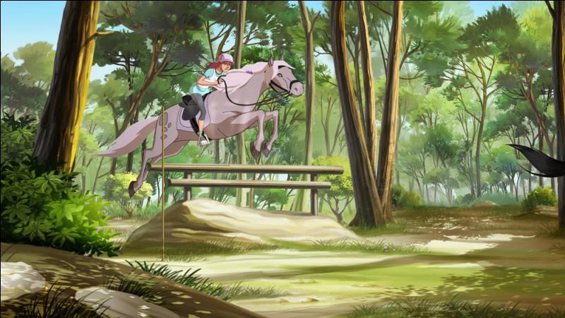 """Comment se nomme la brave jument d'Anaïs, dans """"Le Ranch"""" ?"""
