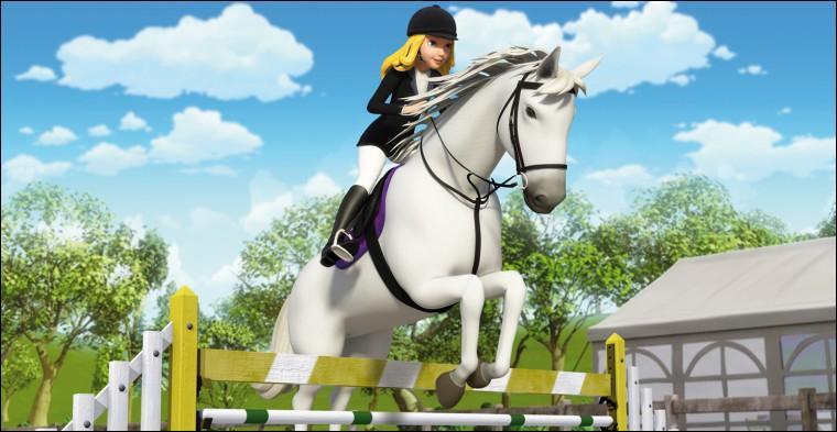 Quel est le nom du cheval classique de Wendy (la jument blanche) ?