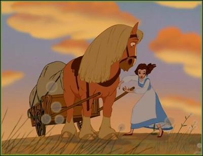 """Tout le monde connaît Belle, de """"La Belle et la Bête"""", mais connaissez-vous le nom de son cheval ?"""