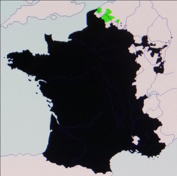En 1668, la France s'agrandit à l'issue des guerres de Dévolution au détriment