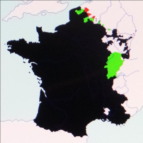 En 1678, au traité de Nimègue, la France dépossède l'Espagne de notamment