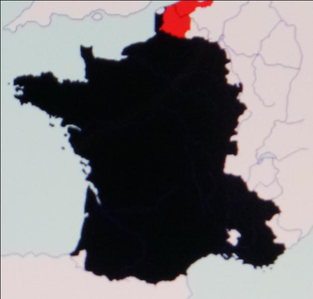 En 1526, la France perd les deux comtés en rouge au profit des Habsbourg d'Autriche. Il s'agit
