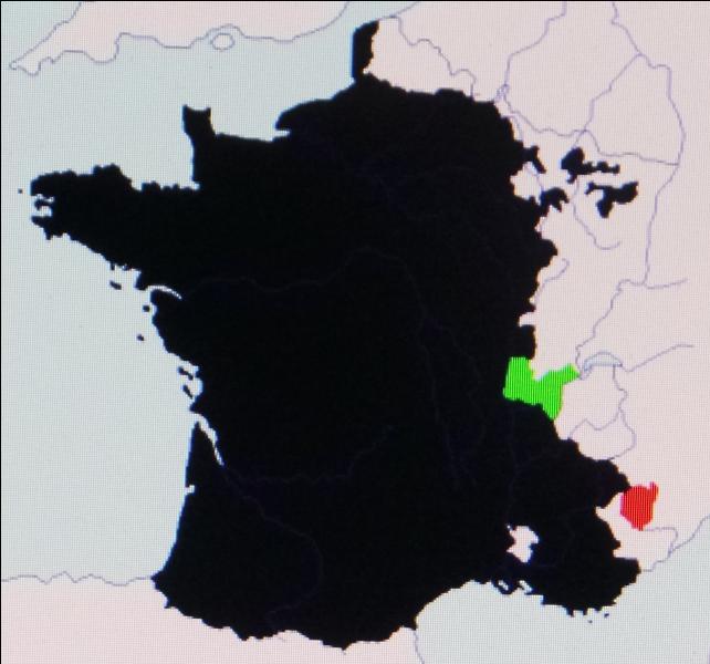 En 1601, la France s'agrandit de la Bresse, des pays du Bugey et de Gex ainsi que le Valromey au détriment