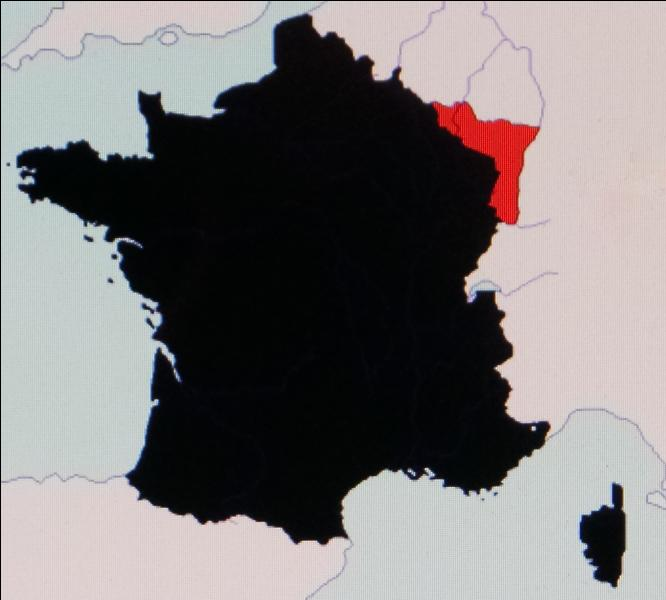 En 1871, au traité de Francfort, la France perd
