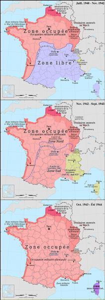 1940. La France est envahie par l'armée allemande. L'armistice est signé le 22 juin. Commence pour quatre ans