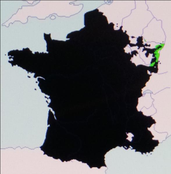 En 1680-1681, la politique des réunions conduit la France à étendre ses possessions en