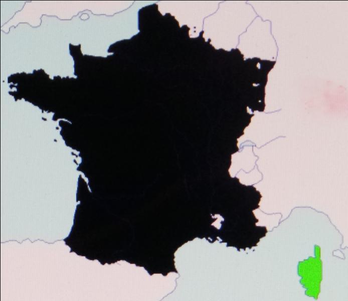 An 1768, la France se voit reconnaître l'exercice de la souveraineté sur l'île de beauté. Il s'agit de