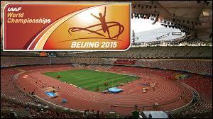 Durant quel mois les Championnats du monde d'athlétisme ont-ils eu lieu ?