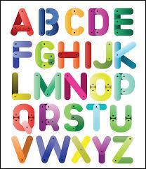 Combien de lettres composent l'alphabet ?