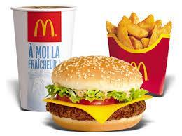 Les burgers de McDonald's