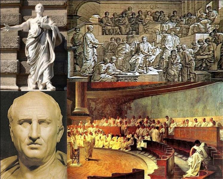C'est, probablement de philosophe de l'antiquité que nous connaissons le mieux. Il a laissé de très nombreux écrits comme une volumineuse correspondance. Il fut également un grand homme politique romain de cette époque. Qui est l'auteur de cette citation ?« On voit qu'un ami est sûr quand notre situation ne l'est pas ».