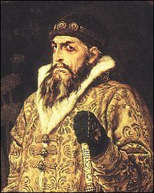 Quel est ce dictateur qui fut le premier tsar de Russie ?