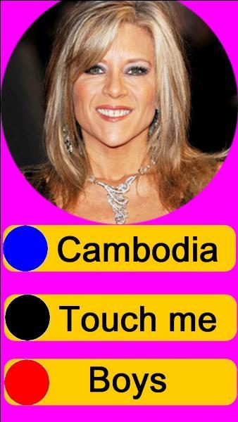Sur quel bouton, allez-vous appuyer pour écouter Samantha Fox ?