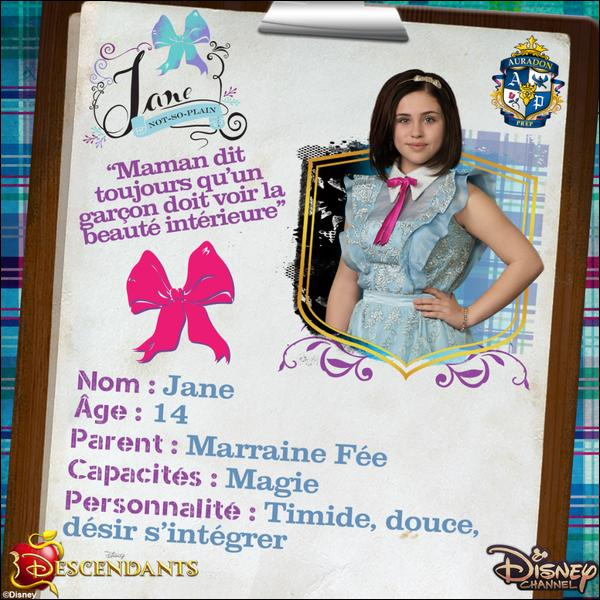 the descendants jane