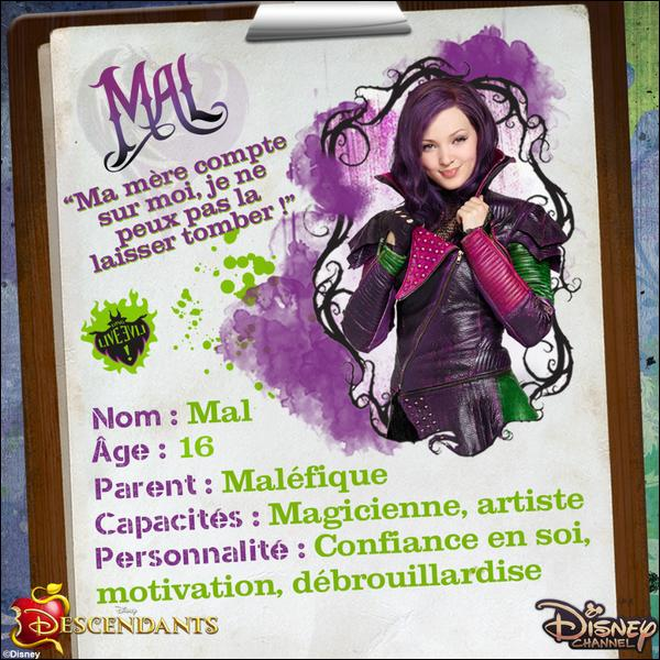 DESCENDANTS MAL