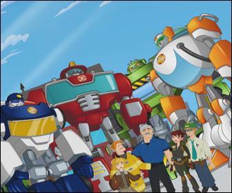 Quel est le dessin animé où des robots peuvent se transformer en voiture ?