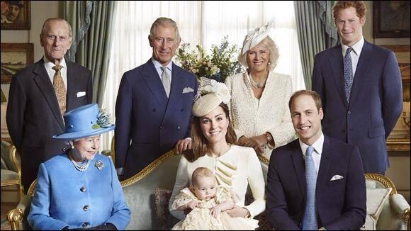 Quizz La famille royale britannique