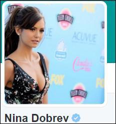 Quel est le compte Twitter de Nina ?