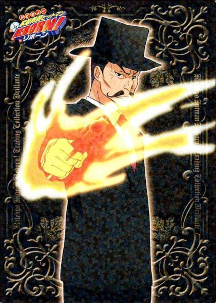 Je suis le Vongola Settimo et je me battais en canalisant ma flamme dans mes pistolets. Je me nomme...