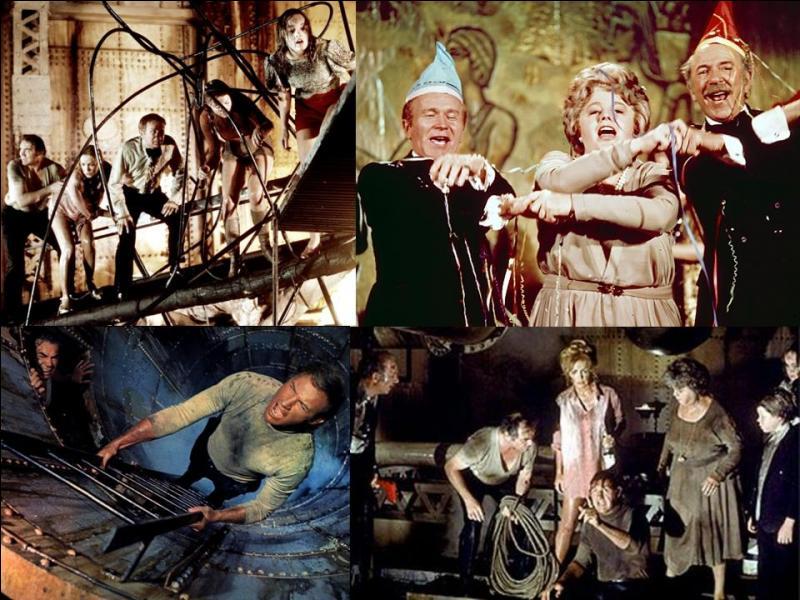 C'est un film catastrophe, de suspense américain. Il a été réalisé par Ronald Neame.Gene Hackman, Ernest Borgnine, Red Buttons, Carol Lynley… font partie de distribution.Une catastrophe touche un paquebot au cours d'une traversée. Une vague scélérate atteint ce navire. Quelques survivants essayent de s'en sortir… et de quitter le bâtiment ! Quel est ce film ?
