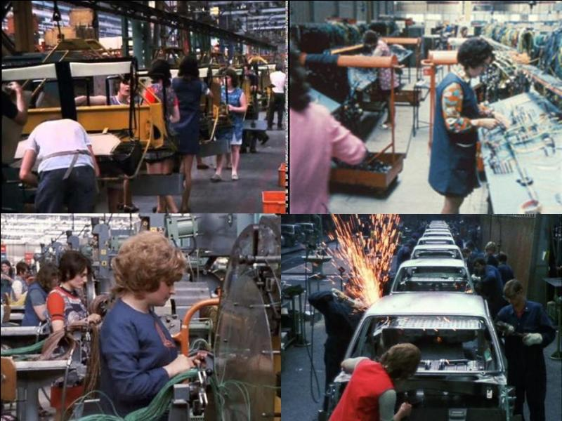 C'est un film documentaire français. Il a été réalisé par Ralph BakshiLes employés de Citroën et des visiteurs du salon de l'auto 1972 participent à ce documentaire.Ce documentaire montre le travail à la chaine dans une entreprise de construction automobile, et le comportement de quelques visiteurs du salon de l'auto 1972 ! Quel est ce film ?