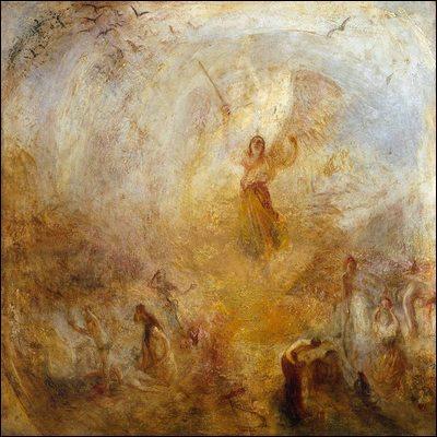 """Qui a peint """"Apparition d'ange"""" ?"""