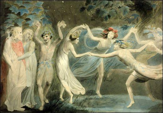 """Qui a peint """"Danse avec les fées"""" ?"""
