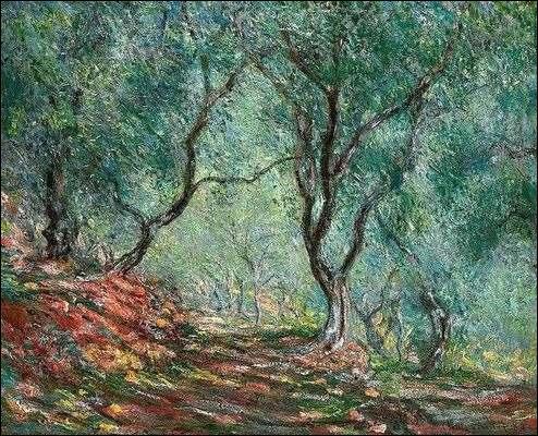 """Qui a peint """"Bois d'oliviers"""" ?"""