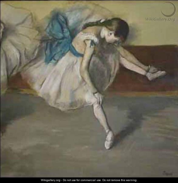 """Qui a peint """"Danseuse au repos"""" ?"""