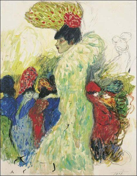 """Qui a peint """"Au Moulin Rouge"""" ?"""