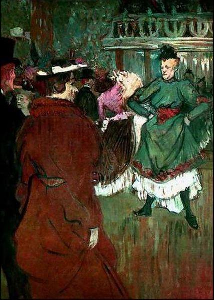 """Qui a peint """"Quadrille au Moulin Rouge"""" ?"""