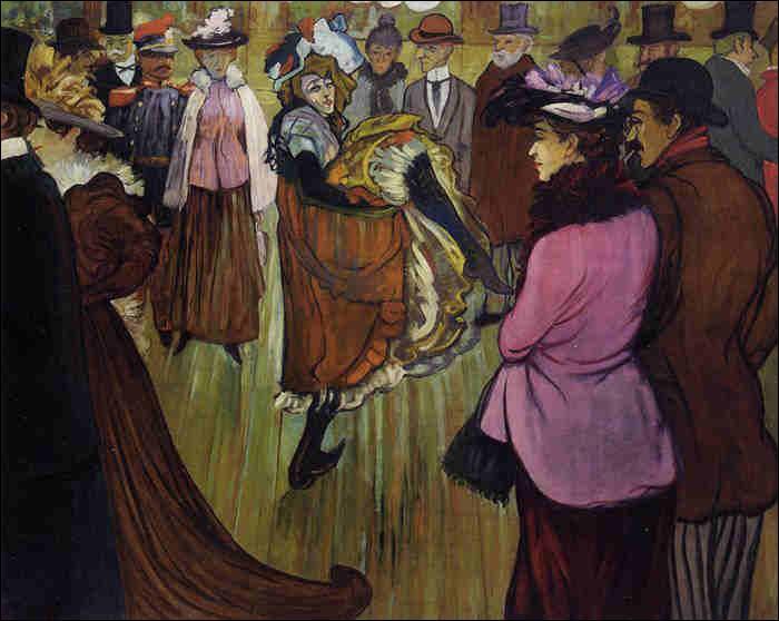 """Qui a peint """"Le Moulin rouge"""" ?"""