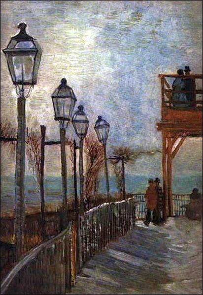 """Qui a peint """"Montmartre près du Moulin d'en Haut"""" ?"""