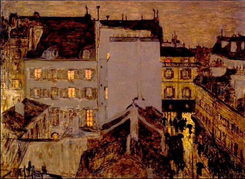 """Qui a peint """"Montmartre sous la pluie"""" ?"""