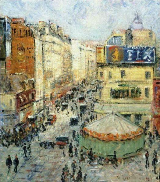 "Qui a peint ""Rue de Clignancourt"" ?"