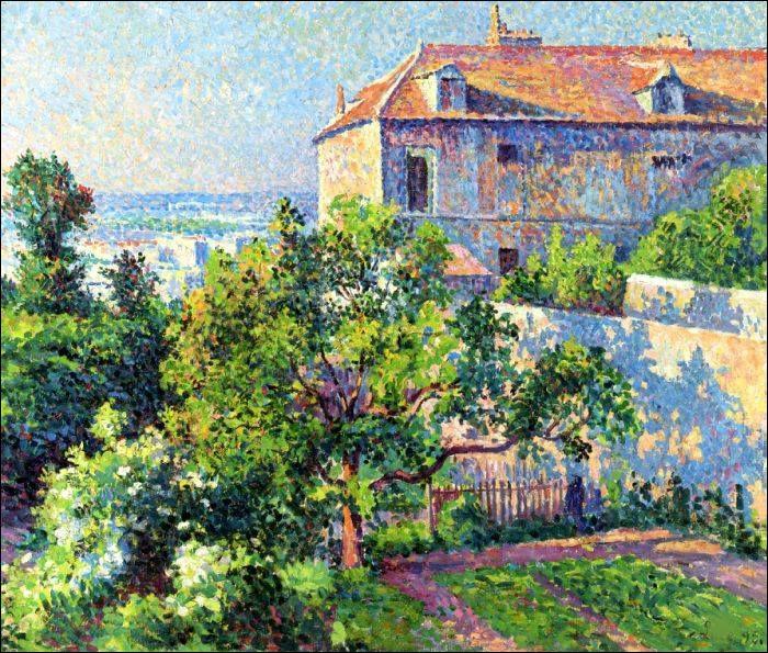 Qui a peint la maison de Suzanne Valadon à Montmartre ?
