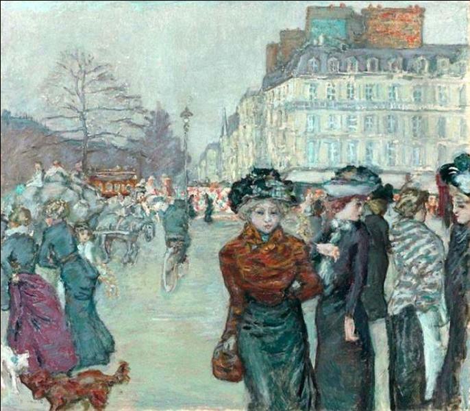 """Qui a peint """"La Place Clichy"""" ?"""