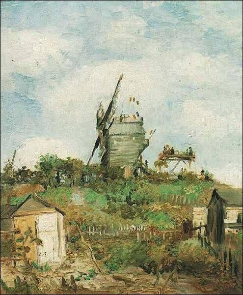 Qui a peint le Moulin de la Galette ?