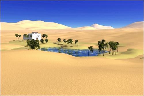 Ai-je raison de dire que nous sommes contents de voir enfin cette oasis ?