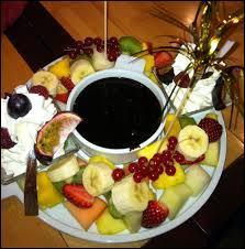 Et pour les gourmands, comment nomme-t-on ce dessert ?
