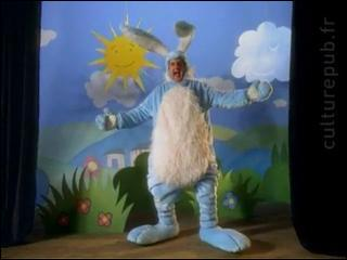 Pour qui ce lapin faisait-il la publicité ?