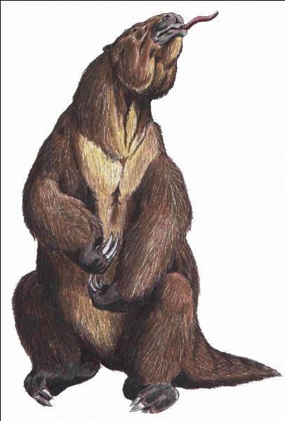 Quel est cet animal glouton qui passait la plupart de son temps à manger ?