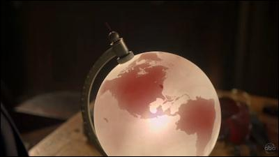 Qui est retrouvé grâce à ce globe ?