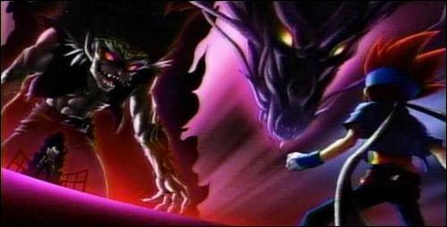 En quoi se transforme Ryuga lors de l'ultime bataille ?
