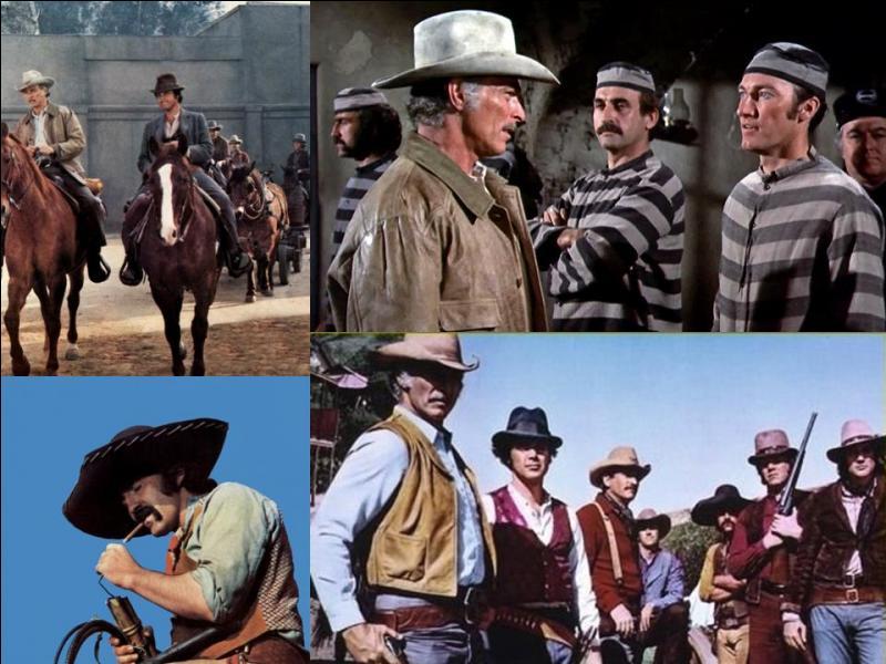 Ce film est un western américain. Il a été réalisé par George McCowan.Lee Van Cleef, Michael Callan, Pedro Armendáriz, Ralph Waite… font partie de la distribution. Ce film est une reprise d'un film asiatique. Il raconte la chasse de trois criminels et la défense de plusieurs femmes et de leur village contre leurs violeurs.Quel est ce film ?