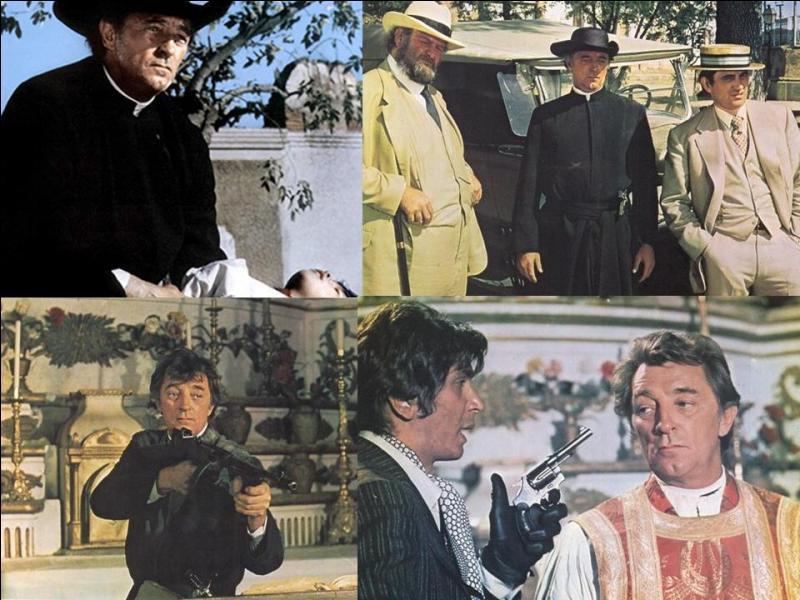 Ce film est un western américain. Il a été réalisé par Ralph Nelson.Robert Mitchum, Rita Hayworth, Frank Langella … font partie de la distribution. Au Mexique, durant une période révolutionnaire, un révolutionnaire irlandais et un ex-militaire Britannique se voient obligés de traquer un personnage dangereux ! Quel est ce film ?