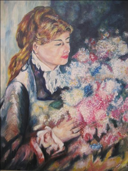 """Qui a peint """"La femme aux lilas"""" ?"""