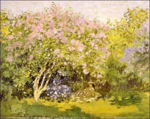 """Qui a peint """"Les lilas au soleil"""" ?"""