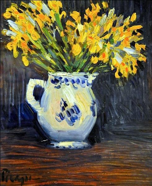 """Qui a peint """"Les iris jaunes"""" ?"""